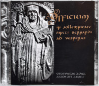 Gregorian chorals: Officium CD from the Cistercian Monks of Lilienfeld Abbey
